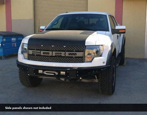 2013 Ford F-150 Addictive Desert Designs Venom Front Bumper With Winch Mount