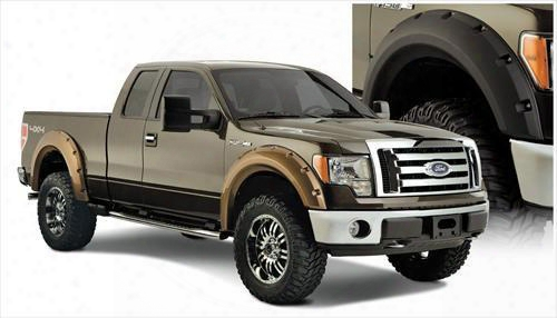 2013 Ford F-150 Bushwacker Ford Max Coverage Fender Flare Set