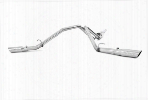 2014 Chevrolet Silverado 1500 Mbrp Xp Series Cat Back Dual Split Side Exit Exhaust System