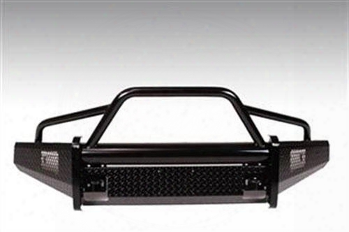 2015 Ford F-150 Fab Fours Bs Replacement Bumper With Pre-runner Guard In Bare Steel
