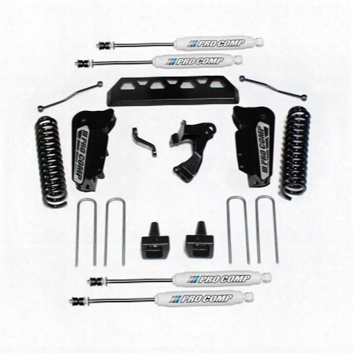 """2017 Ford F-250 Super Duty Pro Comp Suspension 4"""" Stage I Lift Kit With Es9000 Shocks"""
