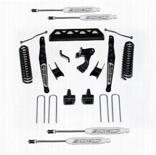 "2017 Ford F-250 Super Duty Pro Comp Suspension 4"" Stage Ii Lift Kit With Es9000 Shocks"