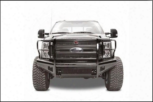 Fab Fours Fab Fours Replacement Front Bumper With Full Guard (black) - Fs17-s4160-1 Fs17-s4160-1 Front Bumpers