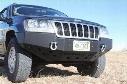 2004 JEEP GRAND CHEROKEE (WJ) Rock Hard 4x4 Parts Patriot Series Front Bumper