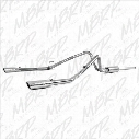 2008 FORD F-150 MBRP Xp Series Cool Duals Cat Back Exhaust System