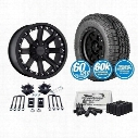 2009 TOYOTA TUNDRA Genuine Packages 3 Inch Pro Comp Nitro Leveling Kit and Pro Comp A/T Sport Tires and Pro Comp Wheel Package - Set of 4