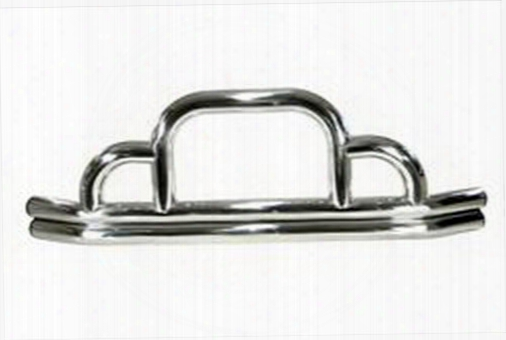 1995 Jeep Wrangler (yj) Rugged Ridge Defender Stainless Steel Front Bumper