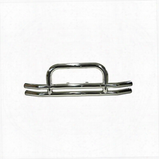 1995 Jeep Wrangler (yj) Rugged Ridge Front Stainless Steel Tube Bumper With Hoop