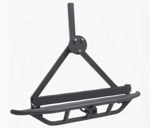 1995 Jeep Wrangler (yj) Smittybilt Src Rear Bumper And Tire Carrier With Receiver Hitch