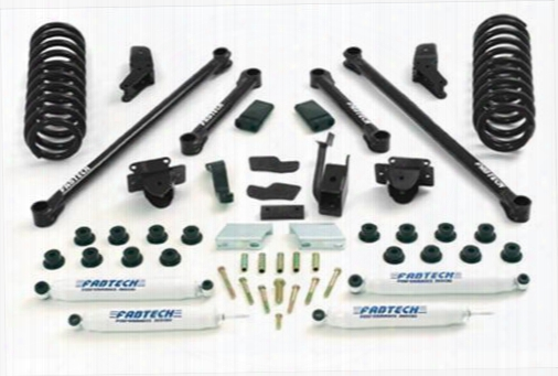 2000 Dodge Ram 1500 Fabtech 5.5 Inch Performance Lift Kit W/performance Shocks