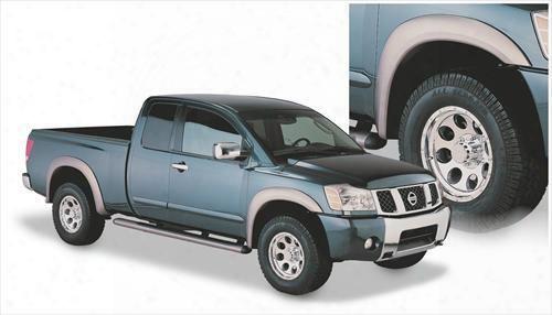 2006 Nissan Titan Bushwacker Nissan Titan Extend-a-fender Flare Set