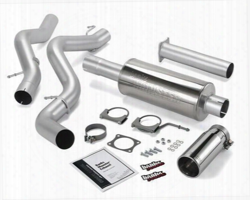 2007 Chevrolet Silverado 2500 Hd Classic Banks Power Monster Exhaust System