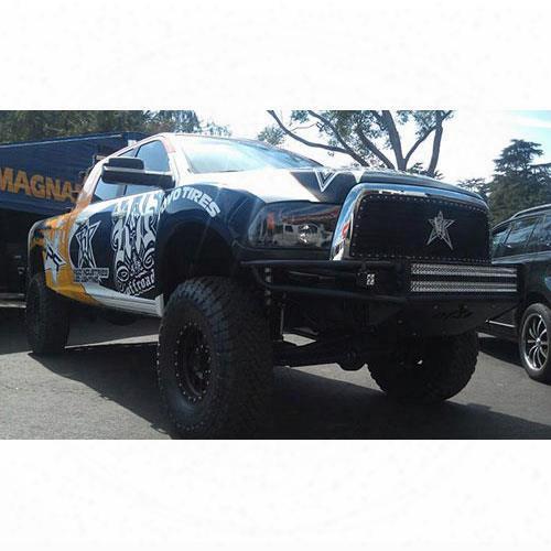 2009 Dodge Ram 2500 Nfab Front Bumper In Textured Black