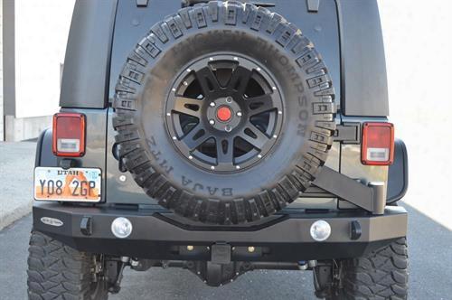 2010 Jeep Wrangler (jk) Rock Slide Engineering R-se Rigid Full Rear Bumper With Tire Carrier