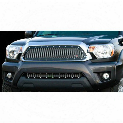 2012 Toyota Tacoma Carriage Works Heavy Duty Mesh Series Studded Grille Insert