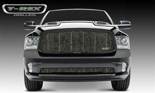 2013 Dodge 1500 T-rex Grilles Graphic Series; Billet Grille Insert