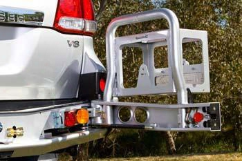 Arb 4x4 Accessories Arb Toyota Land Cruiser Rear Left Jerry Can Holder (black) - 5700221 5700221 Rear Bumpers