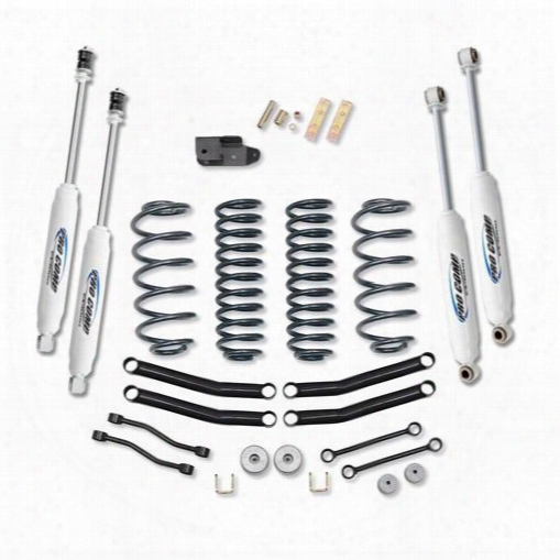 2002 Jeep Wrangler (tj) Pro Comp Suspension 4 Inch Lift Kit With Es3000 Shocks