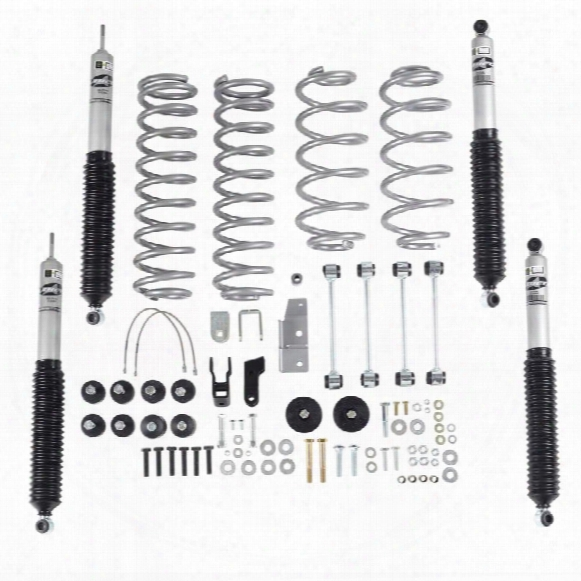 2002 Jeep Wrangler (tj) Rubicon Express 3.5 Inch Super-flex Short Arm Lift Kit With Mono Tube Shocks