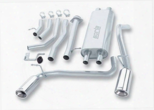 2004 Hummer H2 Borla Cat-back Exhaust System