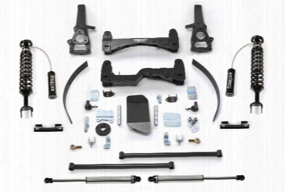 2008 Dodge Ram 1500 Fabtech 6 Inch Performance Lift Kit W/dirt Logic Ss 2.5 Coilovers