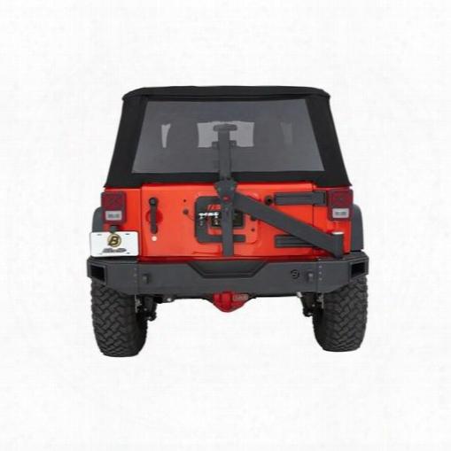 2010 Jeep Wrangler (jk) Bestop Bestop Highrock  4x4g�⢠Modular Rear Tire Carrieer Assembly In Black - 44943-01