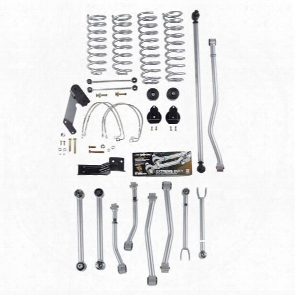 2010 Jeep Wrangler (jk) Rubicon Express 4.5 Inch Super-flex Short Arm Lift Kit - No Shocks