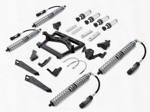 2010 Jeep Wrangler (jk) Rubicon Express Extreme-duty 4-link Long Arm Coilover Kit With Airbumps