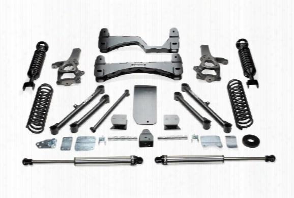 2011 Dodge 1500 Fabtech 6 Inch Basic Lift Kit W/dirt Logic Ss Shocks
