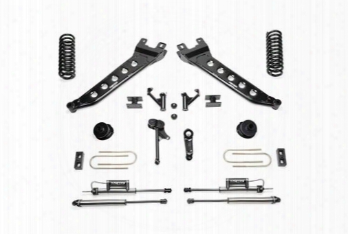 2013 Dodge 3500 Fabtech 5 Inch Radius Arm Lift Kit W/dirt Logic Ss Shocks
