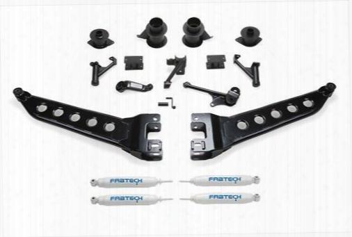 2014 Dodge 2500 Fabtech 5 Inch Radius Arm Lift Kit W/performance Shocks