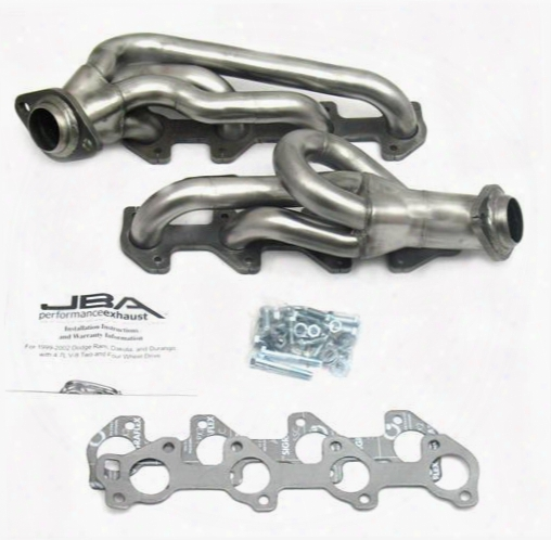 Jba Headers Jba Headers Cat4ward Shorty Headers (natural) - 1949s 1949s Exhaust Headers