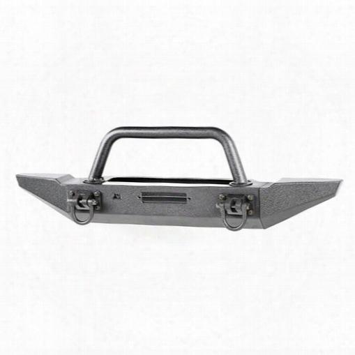 1995 Jeep Wrangler (yj) Rugged Ridge Xhd Front Bumper Kit, Over Rider/standard