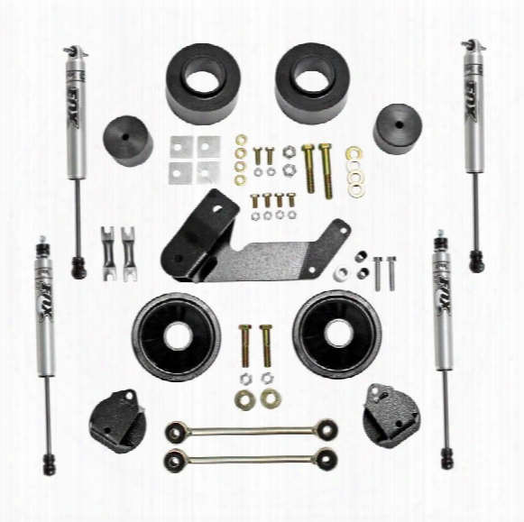 2010 Jeep Wrangler (jk) Rubicon Express Rubicon Express 2.5 Inch Spacer Lift Kit With Fox Performance Shocks - Re7133fp