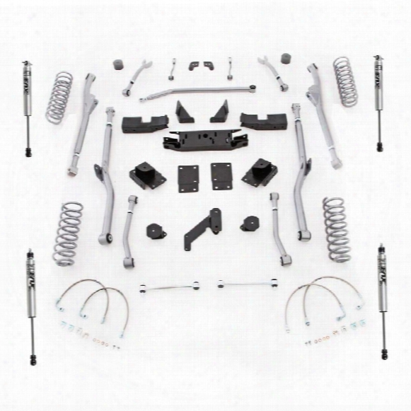 2010 Jeep Wrangler (jk) Rubicon Express Rubicon Express 3.5 Inch Extreme Duty Radius Long Arm Lift Kit With Fox Performance Shocks - Jkrr23