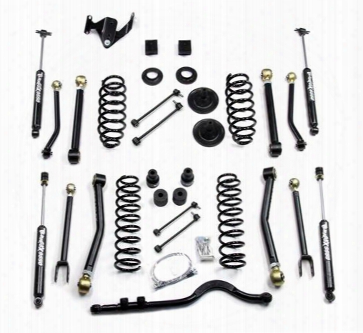 2010 Jeep Wrangler (jk) Teraflex 3 Inch Lift Kit With 8 Flexarms, Front Track Bar And 9550 Shocks