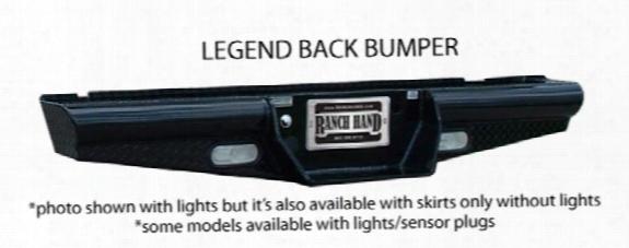 2011 Gmc Sierra 2500 Hd Ranch Hand Legend Series Rear Bumper
