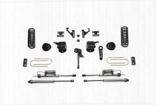2013 Dodge 3500 Fabtech 5 Inch Basic Lift Kit W/dirt Logic Ss Shocks