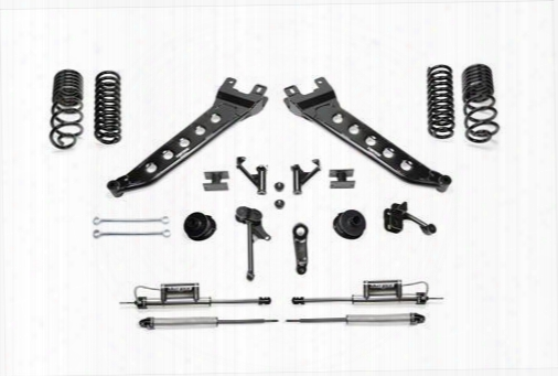 2014 Dodge 2500 Fabtech 5 Inch Radius Arm Aid Kit W/coil Springs & Dirt Logic Ss Shocks