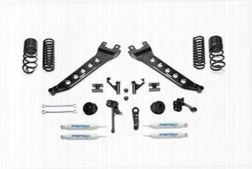 2014 Dodge 2500 Fabtech 6 Inch Radius Arm Lift Kit W/performance Shocks
