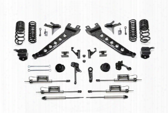 2014 Dodge 2500 Fabtech 7 Inch Radius Arm Lift Kit W/dual Dirt Logic 2.25 Resi Shocks
