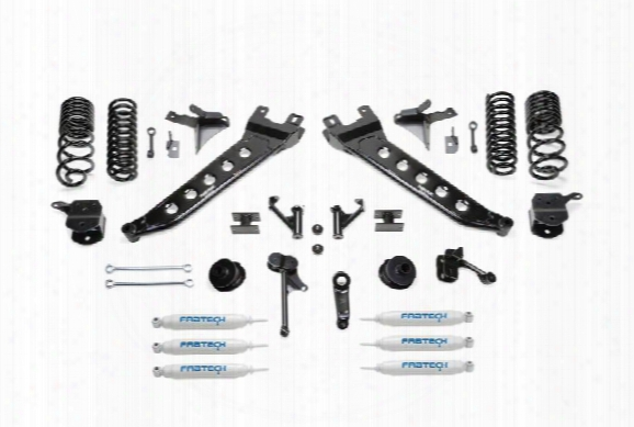 2014 Dodge 2500 Fabtech 7 Inch Radius Arm Lift Kit W/dual Performance Shocks