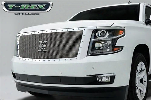 2015 Chevrolet Suburban 1500 T-rex Grilles X-metal Series; Formed Mesh Grille
