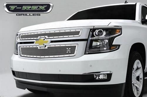 2015 Chevrolet Suburban 1500 T-rex Grilles X-metal; Studded Main Grille Insert