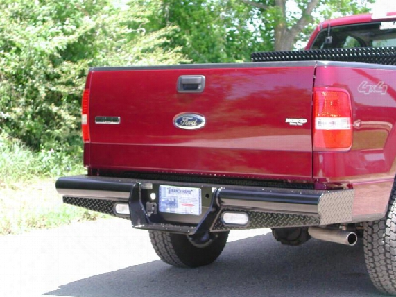 Ranch Hand Ranch Hand Legend Series Rear Bumper (black) - Bbf040bll Bbf040bll Rear Bumpers