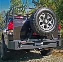 2009 TOYOTA TUNDRA Body Armor 4x4 Toyota Tundra Rear Base Bumper in Textured Powder Coat