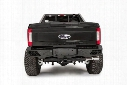 Fab Fours Fab Fours Vengeance Series Rear Replacement Bumper (Black) - FS17-E4151-1 FS17-E4151-1 Rear Bumpers