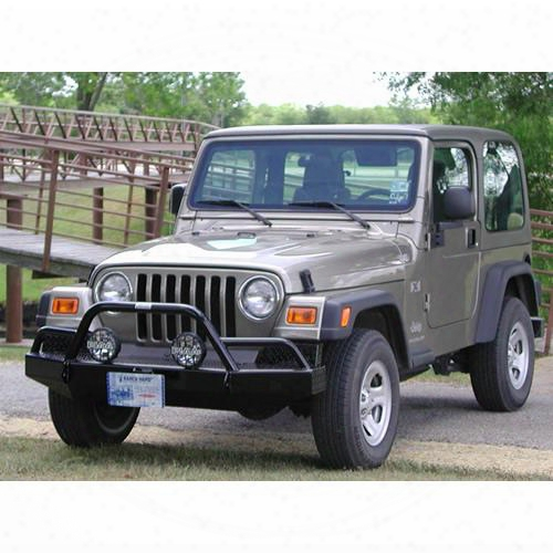2002 Jeep Wrangler (tj) Ranch Hand Sport Bullnose Front Bumper