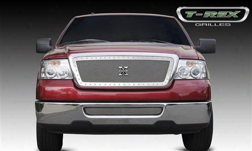 2008 Ford F-150 T-rex Grilles X-metal; Mesh Grille