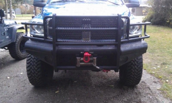 2009 Dodge Ram 2500 Ranch Hand Sport Series Winch Ready Front Bumper